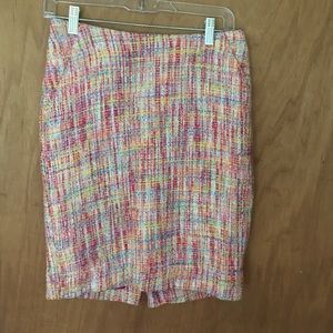 Pastel pencil skirt, spring and summer workwrar